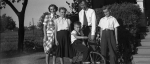 J. Gordon & Doris Davis with Olga, (L)Glenn & Calvin, 1948 (5th & 6th generation Davises)