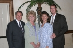 Frank Harrington Davis Jr and wife Jo with their son Mark Davis and his wife Patti 2003