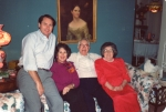 Frank Harrington and Madge Davis and their children Frank Harrington Jr. and Bertha (Betty)