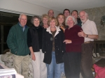 A gathering of 2nd cousins from the Esau & John Cator Davis branches in Gibsons, BC, 2007: Betty Spangler(2nd from left)