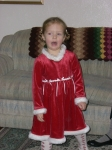 Ava Lillian Wisnom (great-granddaughter of Maysie [Noseworthy] Wisnom) - Dec. 2007